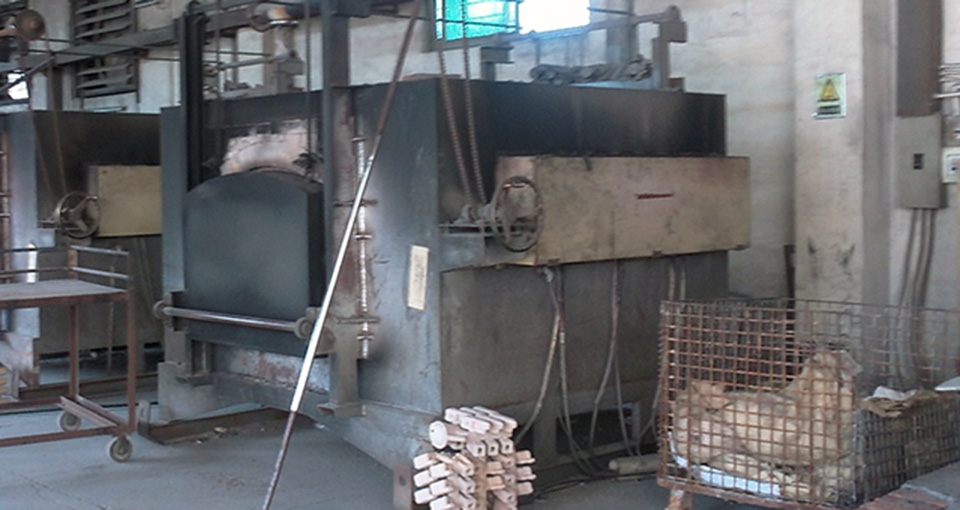 investment casting oven